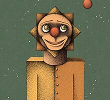 Clown in Space by Nate Armstrong