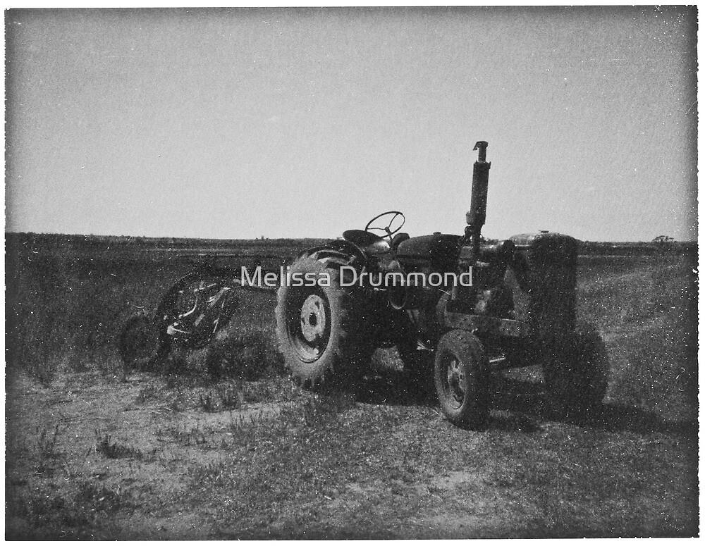 Vintage Tractor by Melissa Drummond