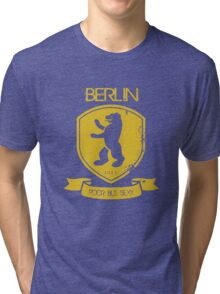 BERLIN POOR BUT SEXY Tri-blend T-Shirt