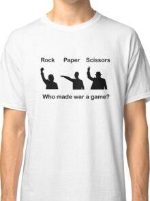 Rock Paper Scissors Classic T-Shirt