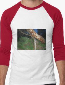 Tawny Frogmouth Owl - Coles Bay Men's Baseball ¾ T-Shirt