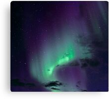 Aurora Borealis / North Light in the arctic Norway Canvas Print