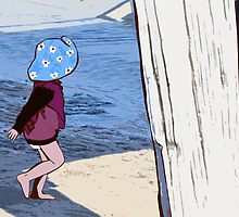 Iola at Semaphore Jetty by Kerry  Youde