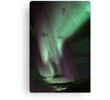 Aurora Borealis / North Light at Kvaløya island, Norway Canvas Print