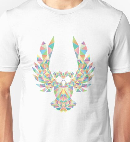 Low-Poly Owl Unisex T-Shirt