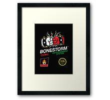 Buy me Bonestorm Framed Print