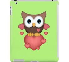 Owl in Love  iPad Case/Skin