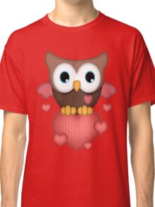 Owl in Love  Classic T-Shirt