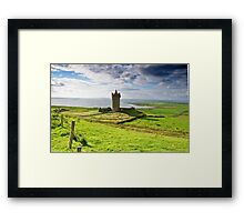 Doonagore Irish Castle, Doolin, County Clare, Ireland Framed Print