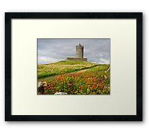 Doonagore Castle County Clare Ireland Framed Print