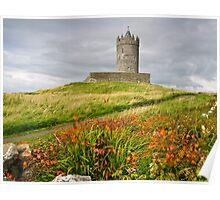 Doonagore Castle County Clare Ireland Poster