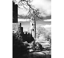 Blarney Castle, Ireland Black and White Photographic Print