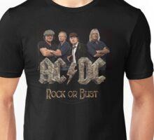 AC N DC ROCK OR BUST TOUR 2015 Unisex T-Shirt