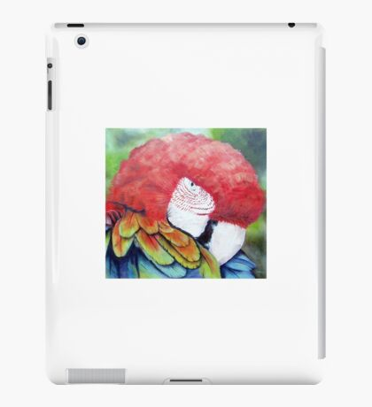 Bright Colourful /Colorful Macaw Parrot iPad Case/Skin