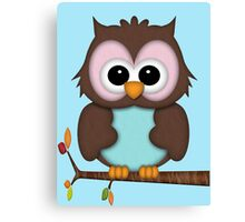 Mrs Owl  Canvas Print