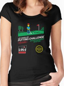 Lee Carvellos Putting Challenge Women's Fitted Scoop T-Shirt
