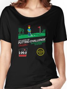 Lee Carvellos Putting Challenge Women's Relaxed Fit T-Shirt