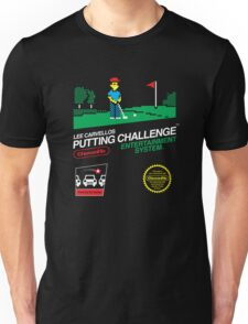 Lee Carvellos Putting Challenge Unisex T-Shirt