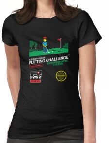 Lee Carvellos Putting Challenge Womens Fitted T-Shirt
