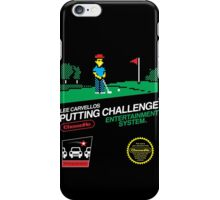 Lee Carvellos Putting Challenge iPhone Case/Skin