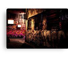 the inner city Canvas Print