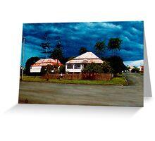 Creek Road Storm Greeting Card