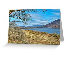 West Of Ireland Scenic Nature Rural Landscape Greeting Card