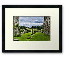 Where Monks once prayed Framed Print