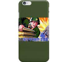 North Korean Propaganda - Big Shells iPhone Case/Skin