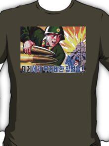 North Korean Propaganda - Big Shells T-Shirt