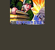 North Korean Propaganda - Big Shells Unisex T-Shirt