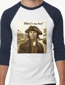 Ross Poldark in Cornwall Men's Baseball ¾ T-Shirt