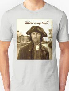 Ross Poldark in Cornwall Unisex T-Shirt