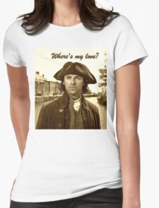 Ross Poldark in Cornwall Womens Fitted T-Shirt