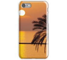 Golden Sunset in Cyprus iPhone Case/Skin