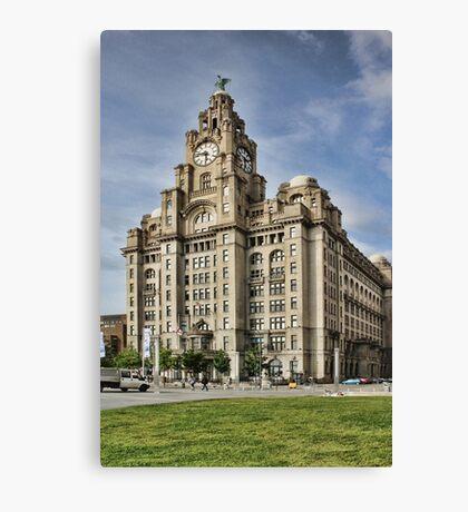 Royal LiverBuilding, Liverpool Canvas Print