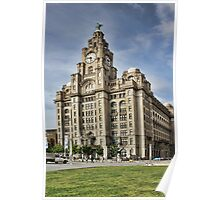 Royal LiverBuilding, Liverpool Poster