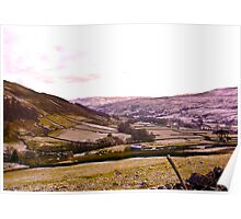 Looking Towards Muker - Yorkshire Dales Poster