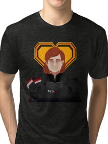 N7 Keep - Jane Shepard Tri-blend T-Shirt