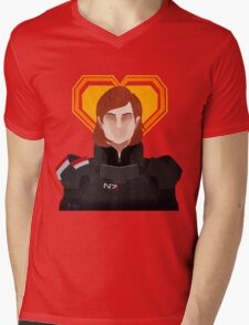 N7 Keep - Jane Shepard Mens V-Neck T-Shirt