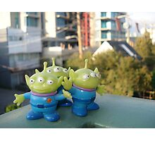 Toy Story Aliens - Vancouver Photographic Print