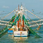 SHRIMP BOATS AT REST by RGHunt
