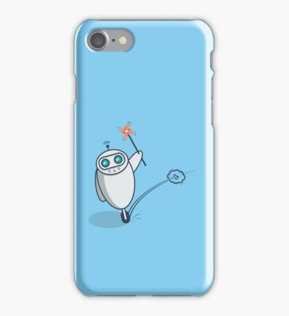 Playful Robot iPhone Case/Skin