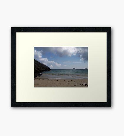 Galapagos Coastline Framed Print