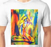 """""""Fire and gold"""" Unisex T-Shirt"""
