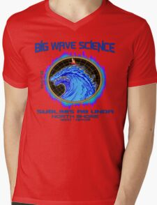 North Shore Big Wave Science Mens V-Neck T-Shirt