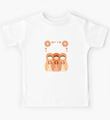 Russian Dolls  Kids Tee