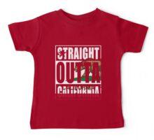Straight Outta California Flag Baby Tee