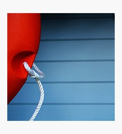 Life Buoy  Photographic Print