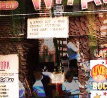 Cafe Wha, NYC, NY Sticker